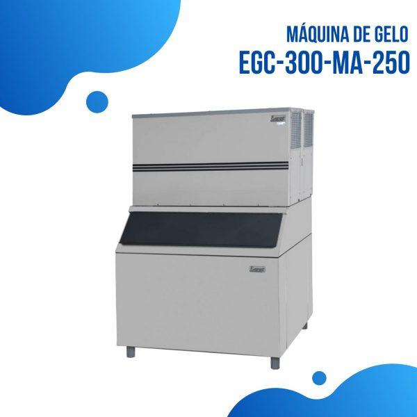 Gelo em Cubos EGC300MA250