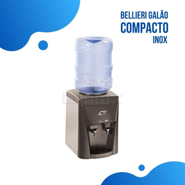 Bebedouro de Garrafão Belliere Compacto Inox